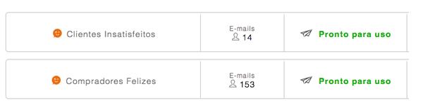 Segmentação de clientes para envio de email marketing